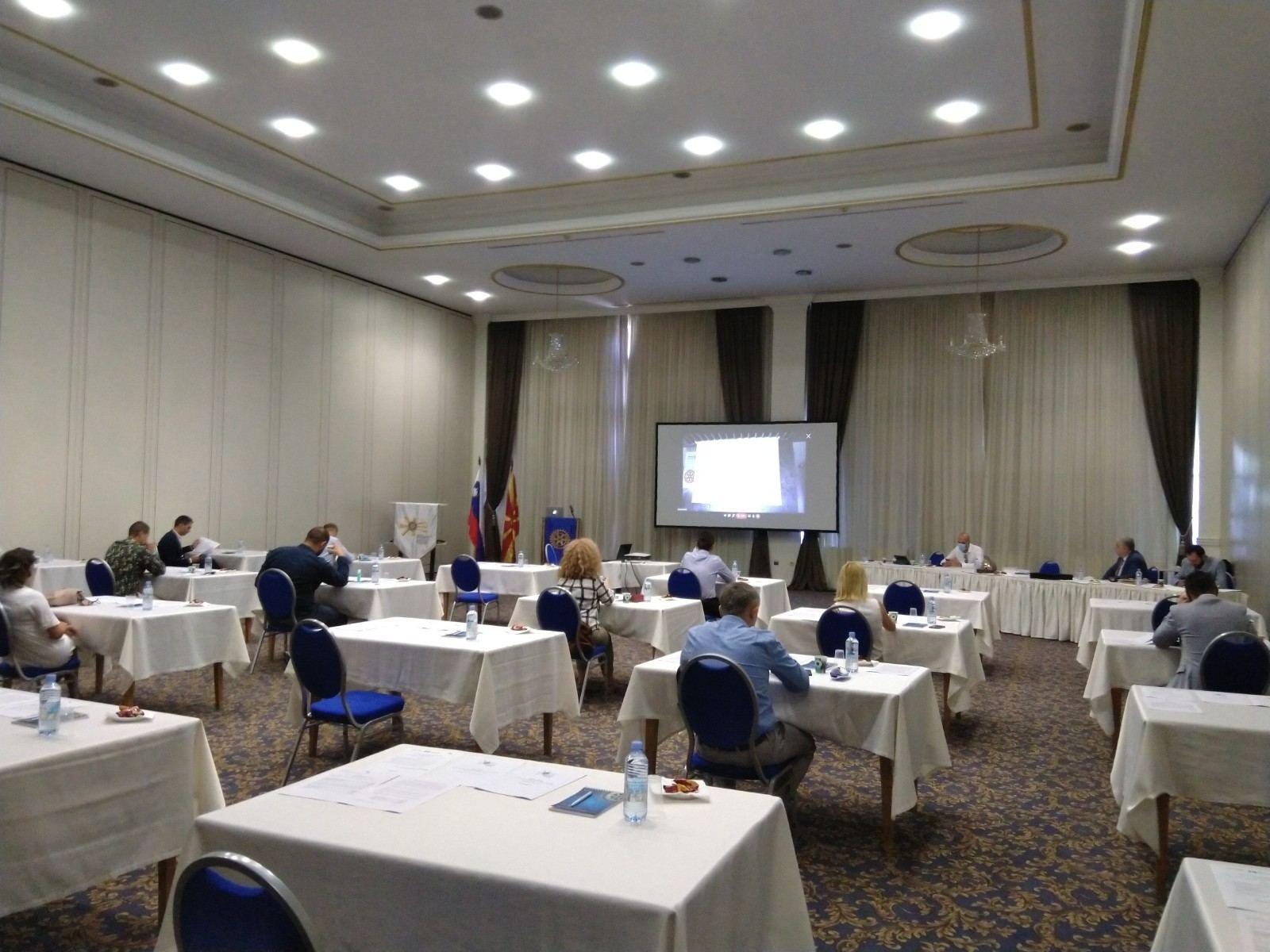 Дистриктна конференција, седница на СРКМ и ПЕТС/СЕТС семинар